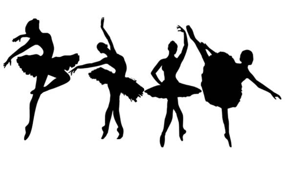 4 ballet dancer Brushes for Photoshop