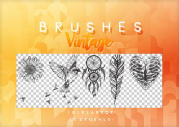 BRUSHES VINTAGE   FREE DOWNLOAD by iGirlError