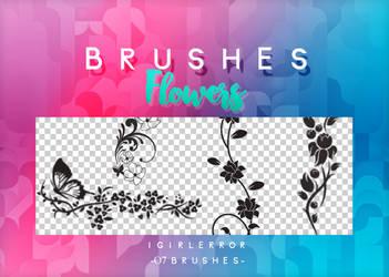 BRUSHES FLOWERS   FREE DOWNLOAD by iGirlError