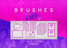 //BRUSHES FILES | FREE DOWNLOAD by iGirlError