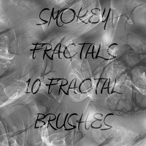 Smoke Fractal Brushes