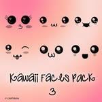 Kawaii faces 3