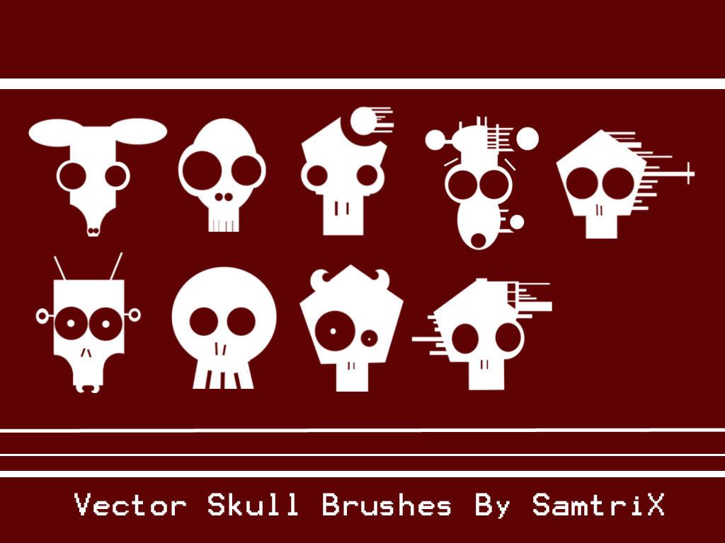 Vector Skulls by SamtriX