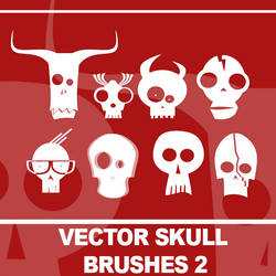 VECTOR SKULL BRUSHES 2 by SamtriX