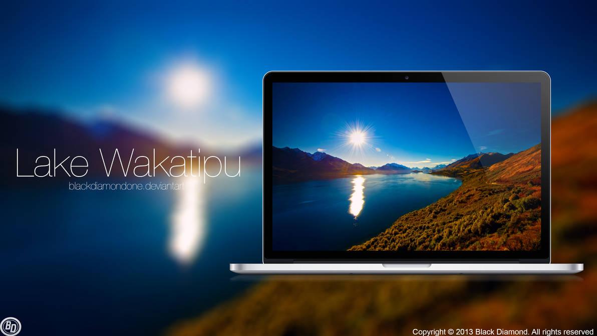 Lake Wakatipu by BlackDiamondOne