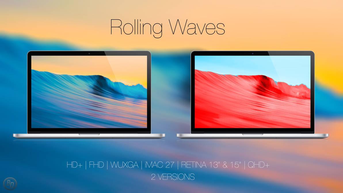 Rolling Waves by BlackDiamondOne
