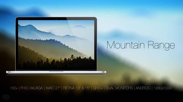 Mountain Range by BlackDiamondOne