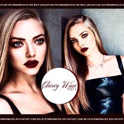 PSD#1 - Cherry Wine. by believeinmermaids