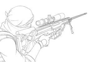 Sniper Timelapse