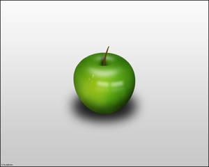 Green Apple + PSD