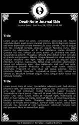 DeathNote Journal Skin - V2