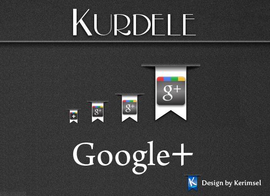 Kurdele Google Plus by h2okerim
