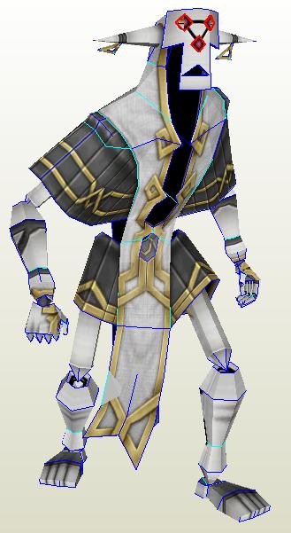 Siren Guardian Papercraft {Skyward Sword} by demonreapergirl