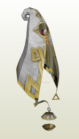Siren Searcher Papercraft {Skyward Sword} by demonreapergirl