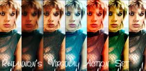 6 Photoshop Action Set