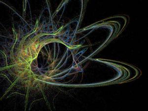 Animated fractal