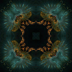 fractal kaleidoscope 1 by taisteng