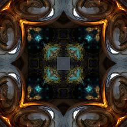 fractal kaleidoscope 7 by taisteng
