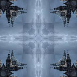 fractal kaleidoscope 9 by taisteng