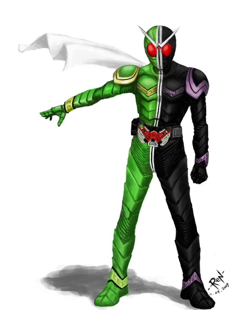 Flash Kamen Rider W Driver By Onrodecado12 On Deviantart