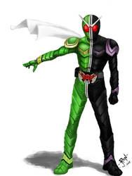 [Flash] Kamen Rider W Driver by onrodecado12