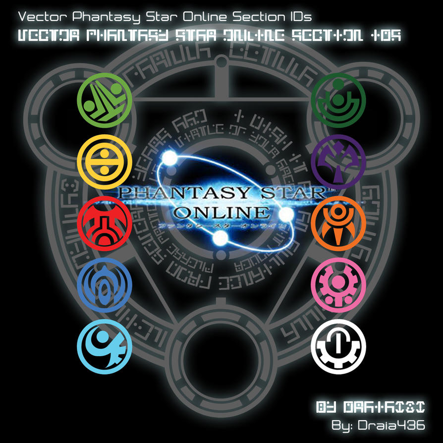 Vector PSO Section IDs By Draia436 by Draia436