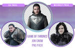 Game of Thrones Jon Snow PNG Pack