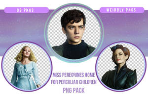 Miss Peregrine Home for Peculiar Children PNG Pack