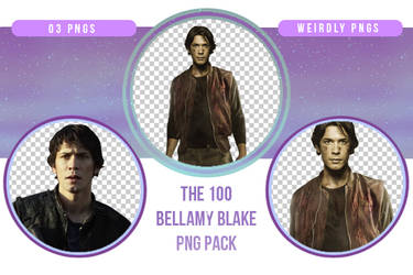 The 100 Bellamy Blake PNG Pack