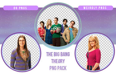 The Big Bang Theory PNG Pack by Weirdly-PNGS