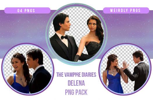 The Vampire Diaries Delena PNG Pack