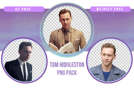 Tom Hiddleston PNG Pack