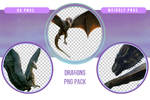 Dragons PNG Pack