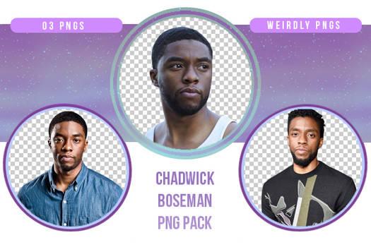Chadwick Boseman PNG Pack