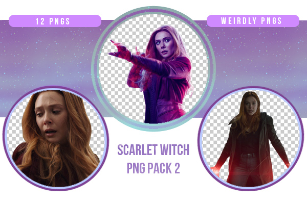 Scarlet Witch / Wanda Maximoff PNG Pack #2 by Weirdly-PNGS