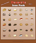 Desserts Icon Pack 1/3