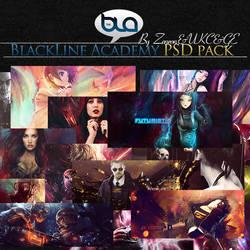 BlackLine Academy PSD pack 1 by zenron