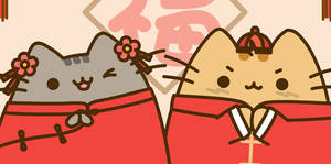 Pusheen Lunar Mew Year 2020!! Nya~~~