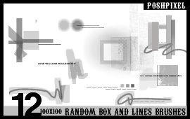 12 Random Box and Lines