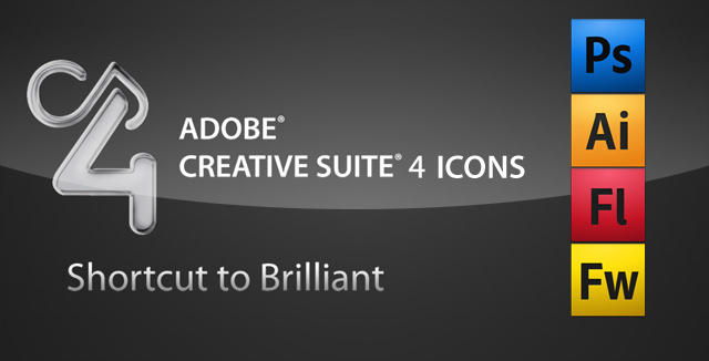 Adobe CS4 Icons by flubberzz