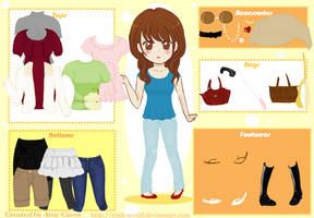 Girly Dress-Up Game by Pink-world