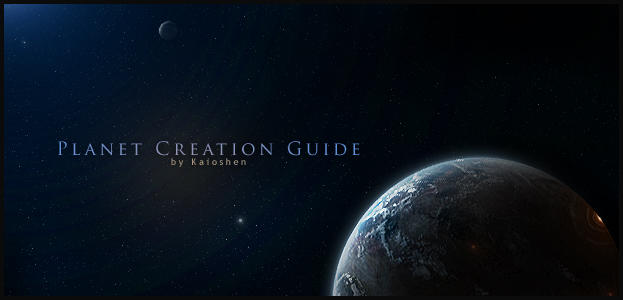 Planet Creation Guide