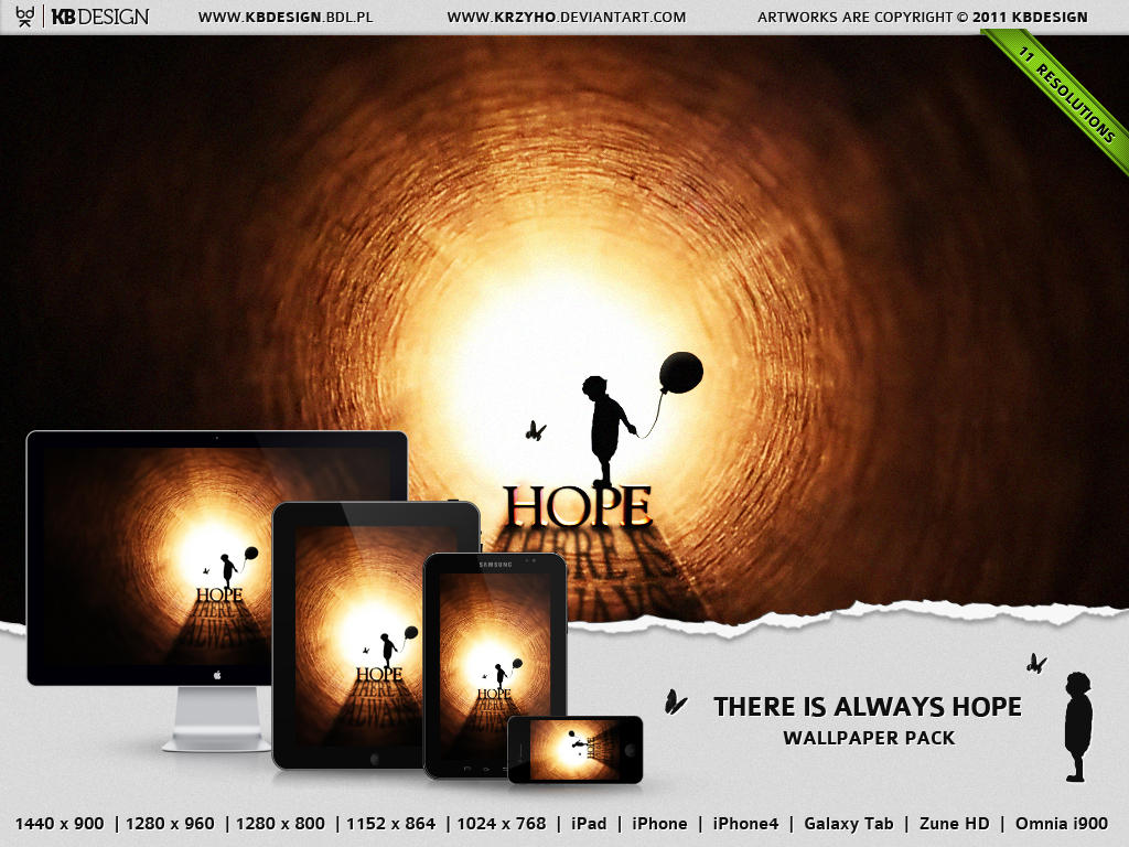 Hope Wallpaper Pack by Krzyho