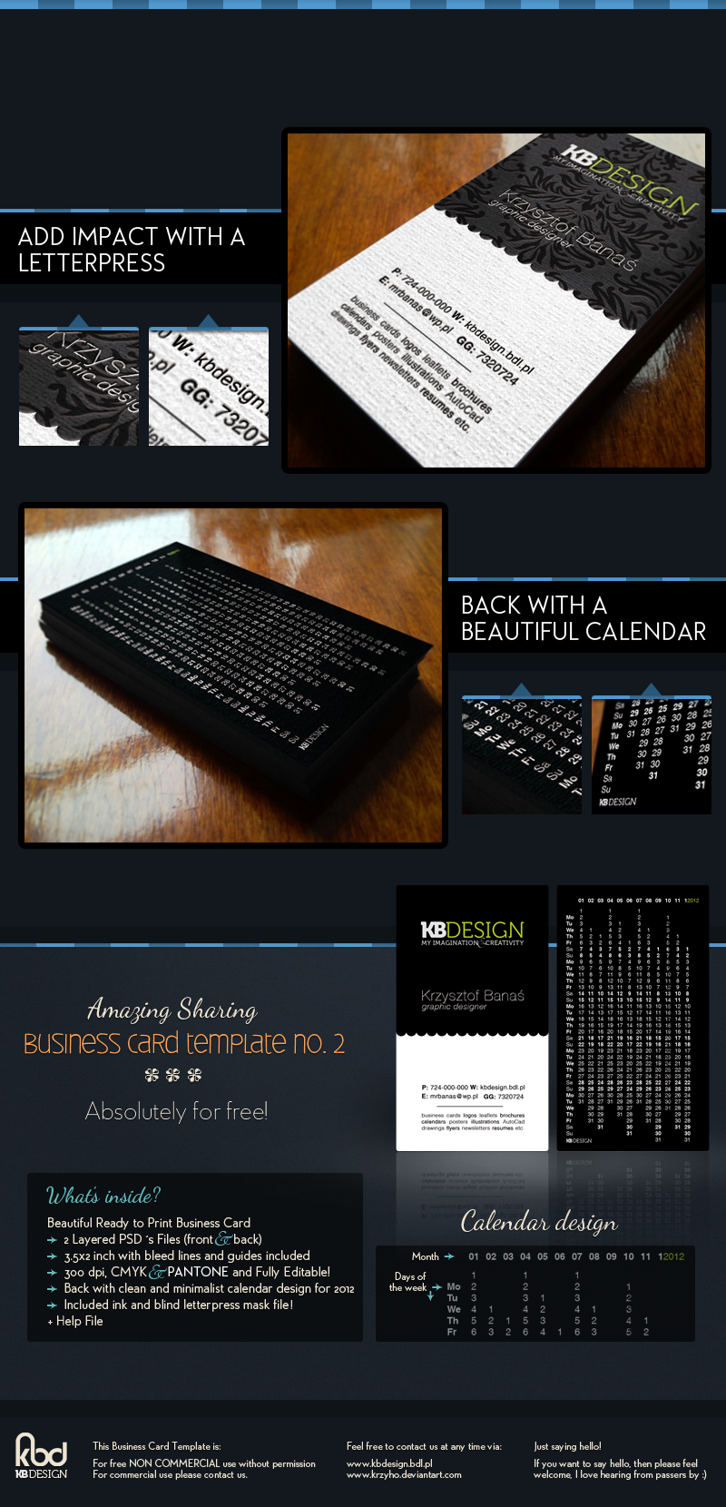 Business Card Template no.2