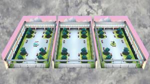 [DL] MMD School Quad Stages Pack