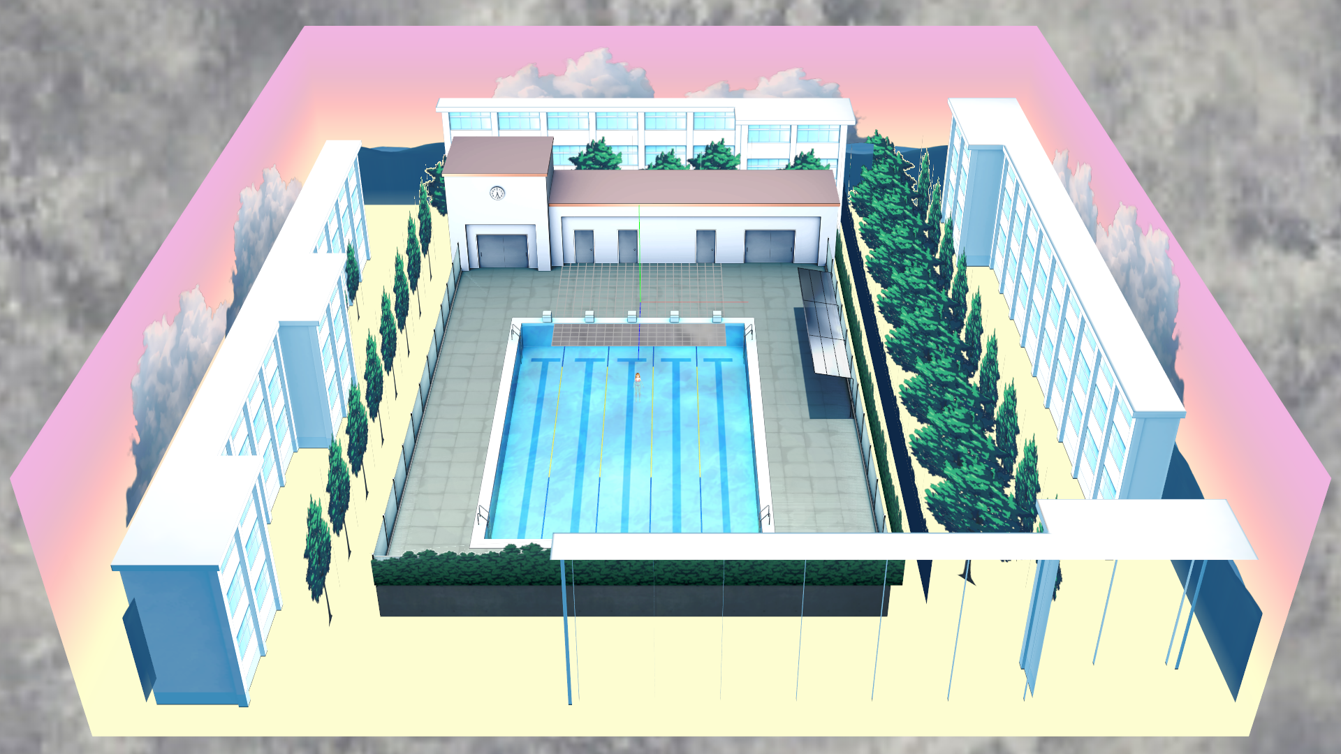 Swimming Pool Stage : Dl mmd school swimming pool stage by maddoktor on