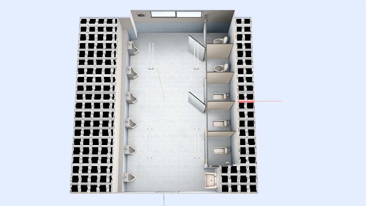 Concurso abierto de mods: Páck de Props de TheMoviesCinema - Página 19 _dl__mmd_school_washroom_stage_by_maddoktor2-db0km2s