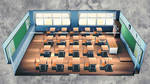 [DL] MMD School Classroom Stage