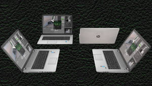 [MMD DL] 17'' HP Laptop