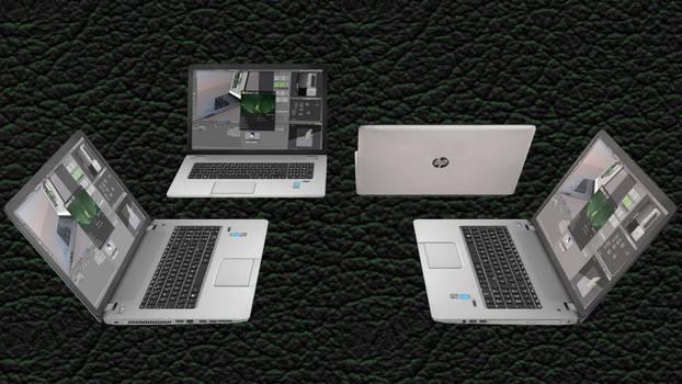 [MMD DL] 17'' HP Laptop
